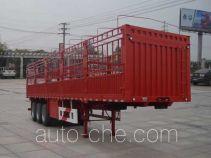 大力牌DLQ9403CCYZ2型仓栅式运输半挂车