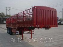 大力牌DLQ9404CCYZ2型仓栅式运输半挂车