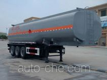 Dali DLQ9404GHY chemical liquid tank trailer