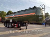 Dali DLQ9409GFW corrosive materials transport tank trailer