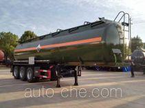 大力牌DLQ9409GFW型腐蚀性物品罐式运输半挂车