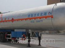 大力牌DLQ9409GYQX型液化气体运输半挂车