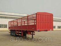 鑫凯达牌DLZ9400CCY型仓栅式运输半挂车