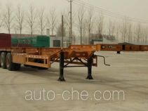 鑫凯达牌DLZ9401TJZE型集装箱运输半挂车