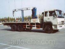 Yetuo DQG5241TYB oil pump transport crane truck