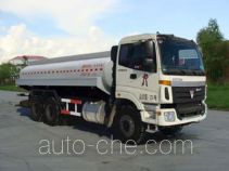 Waste water transport tank truck