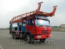 Jingtian DQJ5200TLFCA vertical mounting derrick truck