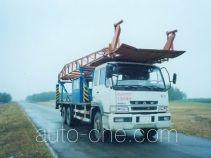 Jingtian DQJ5240TLF vertical mounting derrick truck