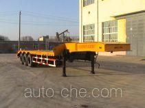 Jingtian DQJ9400 flatbed trailer