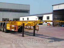 沃顺达牌DR9405TJZ型集装箱运输半挂车