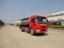 Teyun DTA5161GFWCA5 corrosive substance transport tank truck
