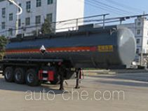 Teyun DTA9401GFWC corrosive materials transport tank trailer