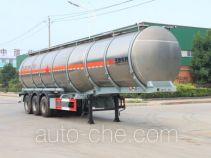 Teyun DTA9402GRYA flammable liquid aluminum tank trailer