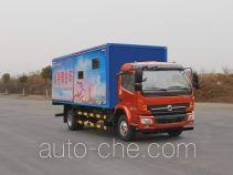 HSCheng DWJ5080XWT12D3 mobile stage van truck