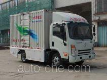 大运牌DYX5044XXYBEV1AAAJEAHK型纯电动厢式运输车