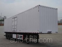 Dayun box body van trailer