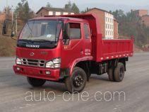 华川牌DZ4010PDT型自卸低速货车