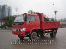 华川牌DZ5815PDT型自卸低速货车