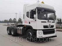 Dongfeng EQ4250GZ5D2 седельный тягач для перевозки опасных грузов