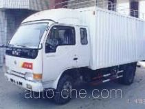 Soft top variable capacity box van truck