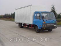 Dongfeng EQ5081XXYGR40D4A soft top variable capacity box van truck