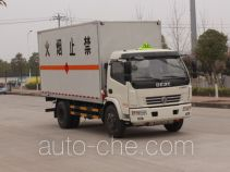 Dongfeng EQ5080XRQ8BDCACWXP flammable gas transport van truck