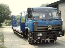 Dongfeng low flatbed truck