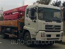 东风牌EQ5160THBT型混凝土泵车