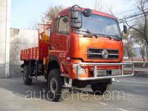 Dongfeng EQ5161TSM бортовой грузовик с краном-манипулятором (КМУ) повышенной проходимости для работы в пустыне