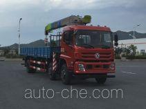 Dongfeng EQ5250JSQFV truck mounted loader crane