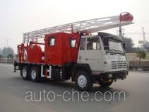 RG-Petro Huashi ES5230TCYB well servicing rig (workover unit) truck