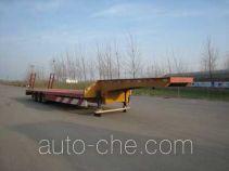 华石牌ES9380TDP型低平板半挂车