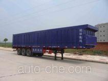 Chitian EXQ9390XXYA box body van trailer