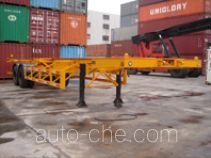 Changchun Yuchuang FCC9350TJZ container transport skeletal trailer