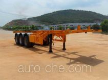 Minfeng FDF9400TJZK container transport trailer