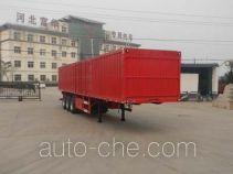 Yima FFH9407XXY box body van trailer