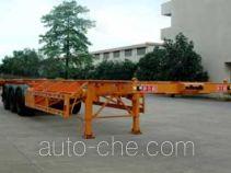 Xinrigang FFR9400TWYA dangerous goods tank container skeletal trailer
