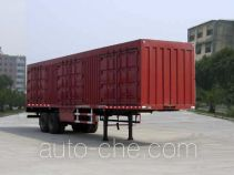 Fujian (New Longma) FJ9350XXY box body van trailer