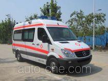 恒乐牌FLH5045XJHL型救护车