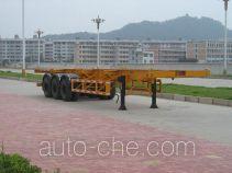 闽兴牌FM9370TJZ型集装箱运输半挂车