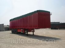 Minxing soft top box van trailer