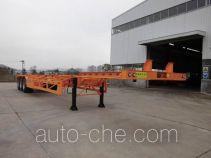 闽兴牌FM9409TJZ型集装箱运输半挂车
