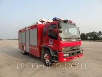 Fuqi (Fushun) FQZ5110TXFGQ40 gas fire engine