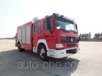 抚起牌FQZ5140TXFJY60H型抢险救援消防车