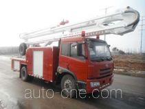 Fuqi (Fushun) FQZ5141JXFJP25 high lift pump fire engine