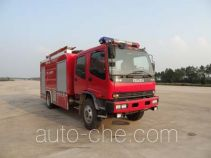 抚起牌FQZ5150GXFAP50型A类泡沫消防车
