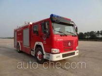 抚起牌FQZ5190GXFAP60型A类泡沫消防车