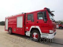 抚起牌FQZ5190GXFPM80型泡沫消防车