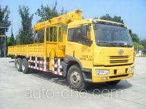 抚起牌FQZ5250JSQ型随车起重运输车