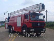 Fuqi (Fushun) FQZ5251JXFDG25 aerial platform fire truck